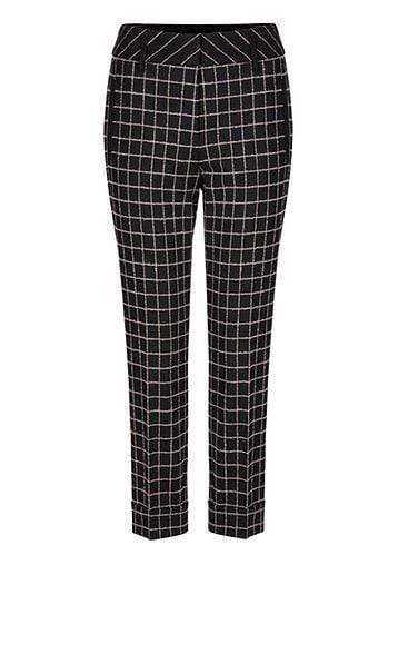 Marc Cain Collections Trousers Marc Cain Collections Woollen Trousers with Fluffy Yarn 900 PC 81.57 W68 izzi-of-baslow