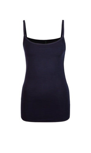 Marc Cain Essentials Tops Marc Cain Essentials Camisole Top in Navy +E61 24 J68 izzi-of-baslow