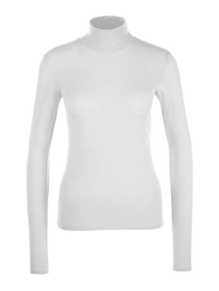 Marc Cain Essentials Tops Marc Cain Essentials Polo Necked Skin HS 48.54  J03 izzi-of-baslow