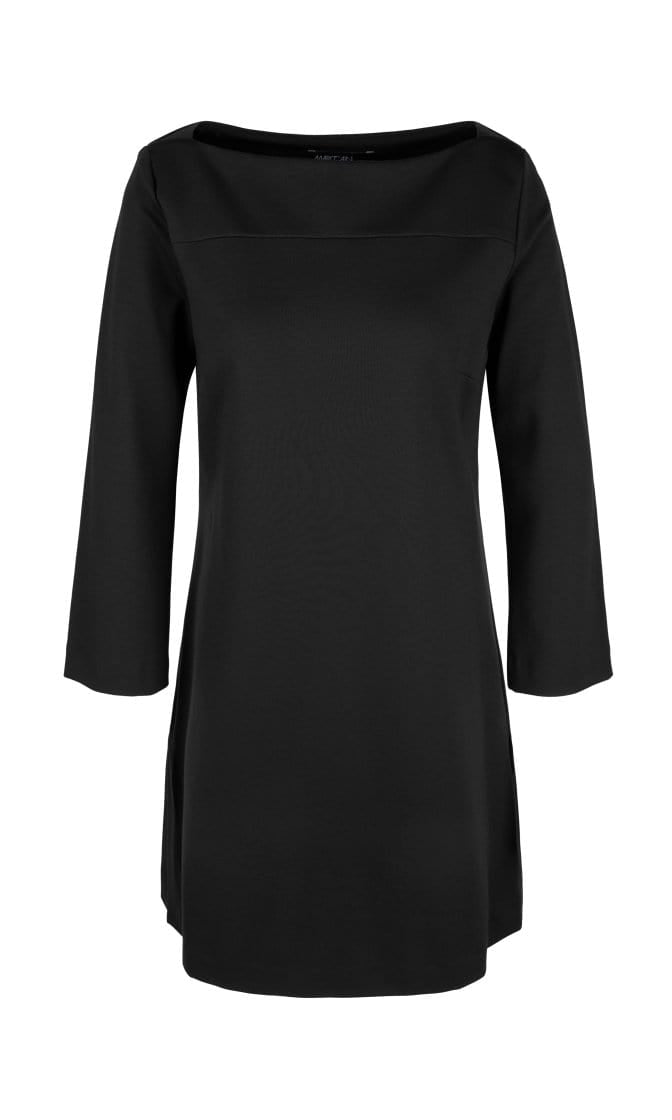 Marc Cain Essentials Tops Marc Cain Essentials Tunic Top in Black +E54 10 J24 izzi-of-baslow