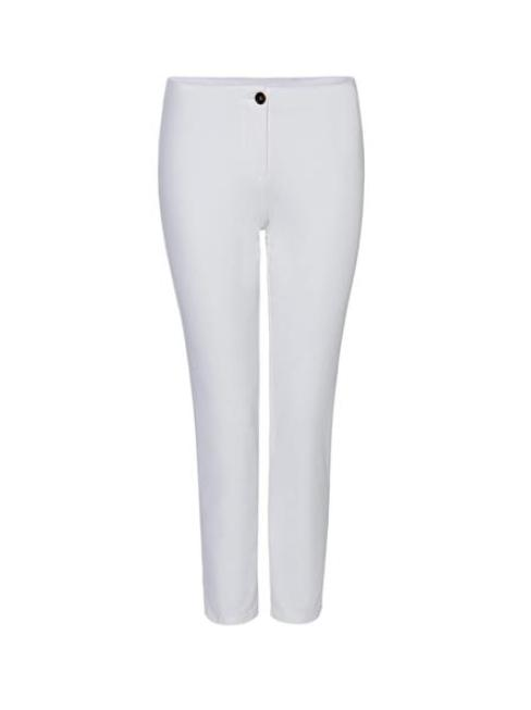 Marc Cain Essentials Trousers 2 Marc Cain Essentials Off White Crop Trousers +E 81.37 W33 izzi-of-baslow