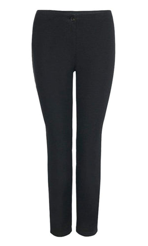 Marc Cain Essentials Trousers Marc Cain Essentials Cropped Trouser in  Black +E81 37 W33 izzi-of-baslow