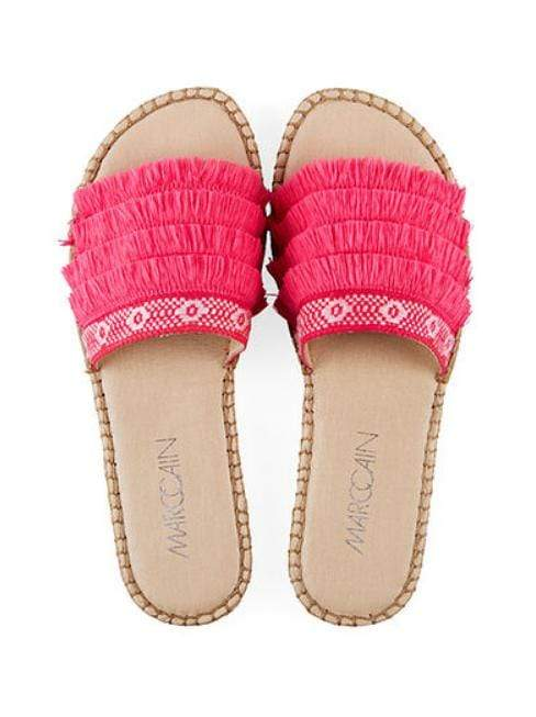 Marc Cain Shoes 3.5 Marc Cain Espadrille Mules Pink Daisy LB SI.05 W25 izzi-of-baslow