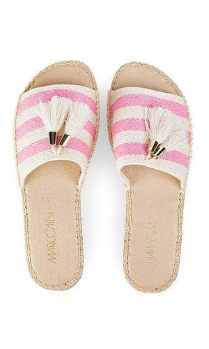 Marc Cain Shoes 3 Marc Cain Espadrille-style mules Neon Rose NB SI.01 W09 izzi-of-baslow