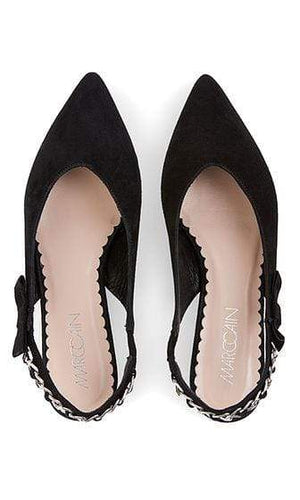 Marc Cain Shoes 3 Marc Cain Slingback ballerina pumps black NB SF.14 L15 izzi-of-baslow