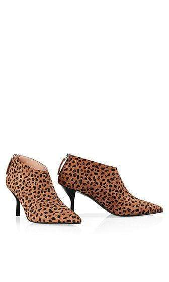Marc Cain Shoes Marc Cain Ankle boots with animal pattern Gingerbread NB SB.13 L11 izzi-of-baslow