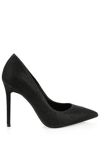 Marc Cain Shoes Marc Cain Black Glitter High Heels PB SD.11 W03 izzi-of-baslow