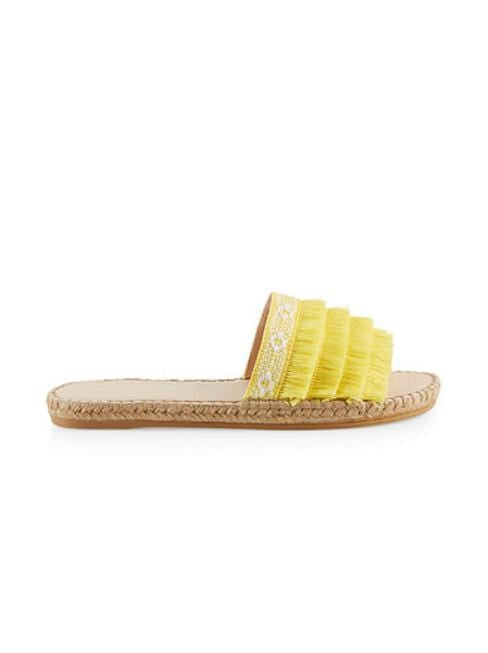 Marc Cain Shoes Marc Cain Espadrille Mules Lemon LB SI.05 W25 izzi-of-baslow