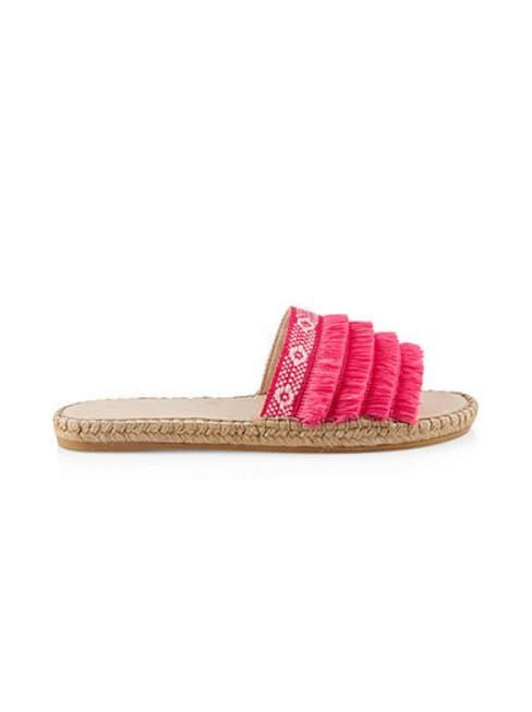 Marc Cain Shoes Marc Cain Espadrille Mules Pink Daisy LB SI.05 W25 izzi-of-baslow