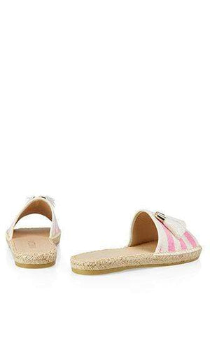 Marc Cain Shoes Marc Cain Espadrille-style mules Neon Rose NB SI.01 W09 izzi-of-baslow