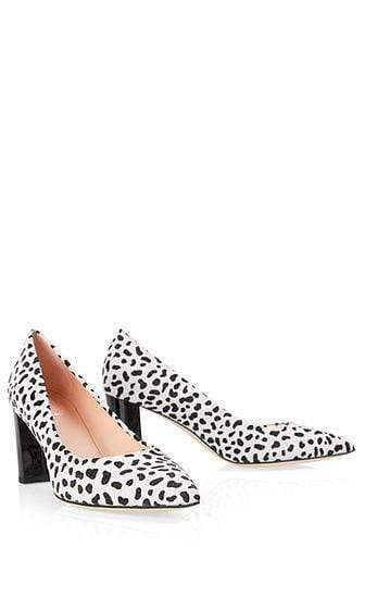 "Marc Cain Shoes Marc Cain ""Marc Cain loves your feet"" white and black pumps NB SD.03 L11 izzi-of-baslow"