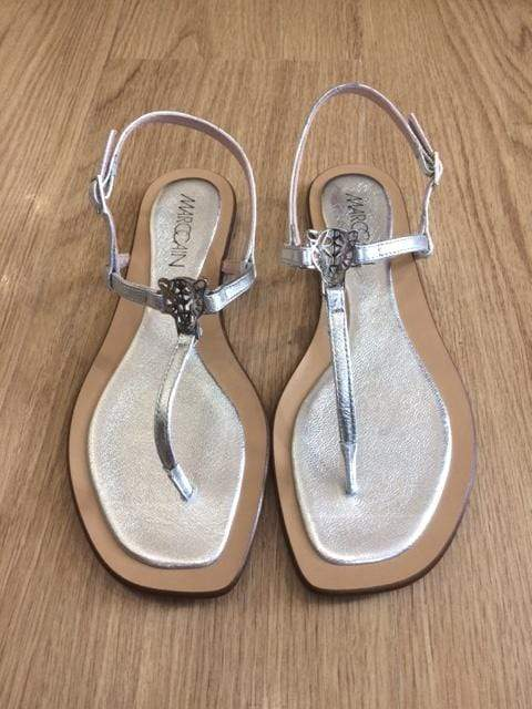 Marc Cain Shoes Marc Cain Silver Sandals LB SG.50 L70 izzi-of-baslow