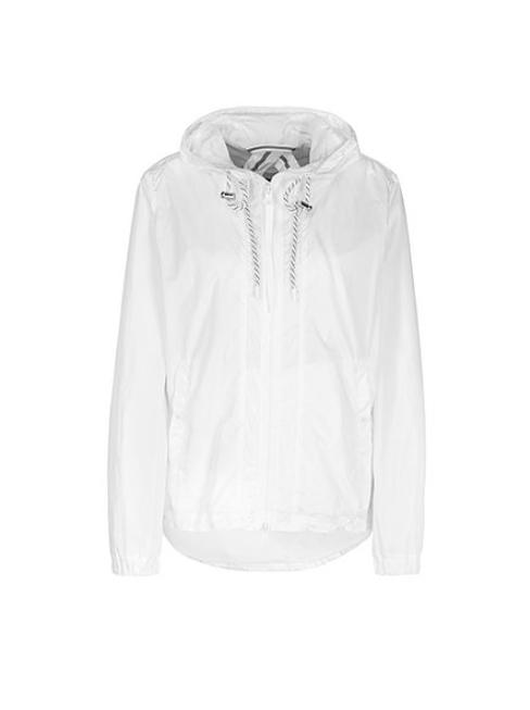 Marc Cain Sports Coats and Jackets 2 Marc Cain Sports Outdoor Jacket With Mesh Lining White NS 12.03 W04 izzi-of-baslow