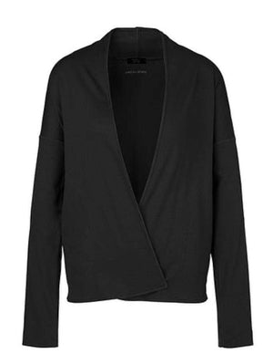 Marc Cain Sports Coats and Jackets Marc Cain Sports Black Cotton Jacket QS 31.33 J55 900 Y izzi-of-baslow