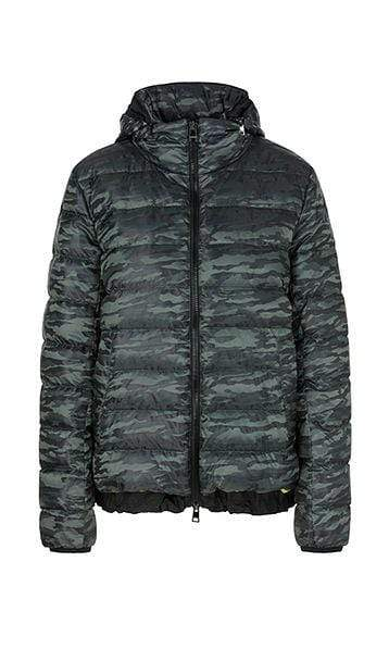 Marc Cain Sports Coats and Jackets Marc Cain Sports Patterned Down Jacket PS 12.08 W30 izzi-of-baslow