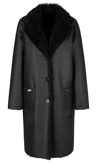 Marc Cain Sports Coats and Jackets Marc Cain Sports Reversible Faux Fur Coat PS 12.05 W86 izzi-of-baslow