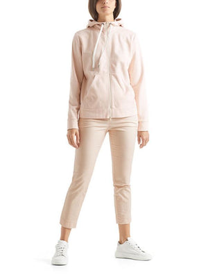 Marc Cain Sports Coats and Jackets Marc Cain Sports Soft Powder Pink Hooded Jacket QS 31.31 J44 145 izzi-of-baslow