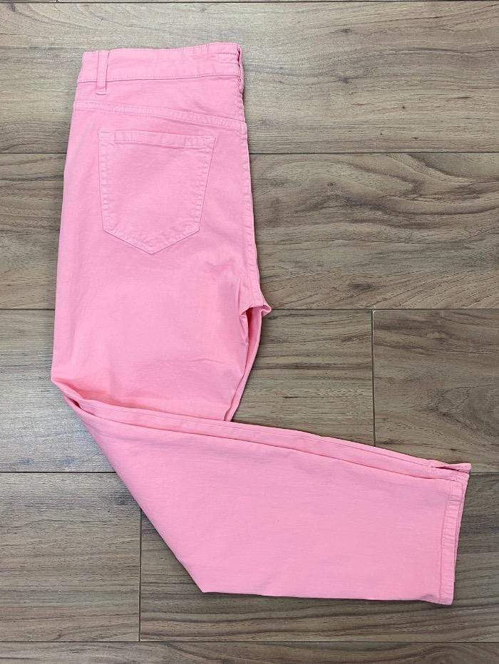 Marc Cain Sports Jeans Marc Cain Slim-fitting, cropped jeans Pink NS 82.07 D10 232 izzi-of-baslow