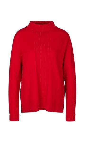 Marc Cain Sports Knitwear Marc Cain Sports Cashmere Sweater with Stand-Up Collar PS 41.09 M81 izzi-of-baslow