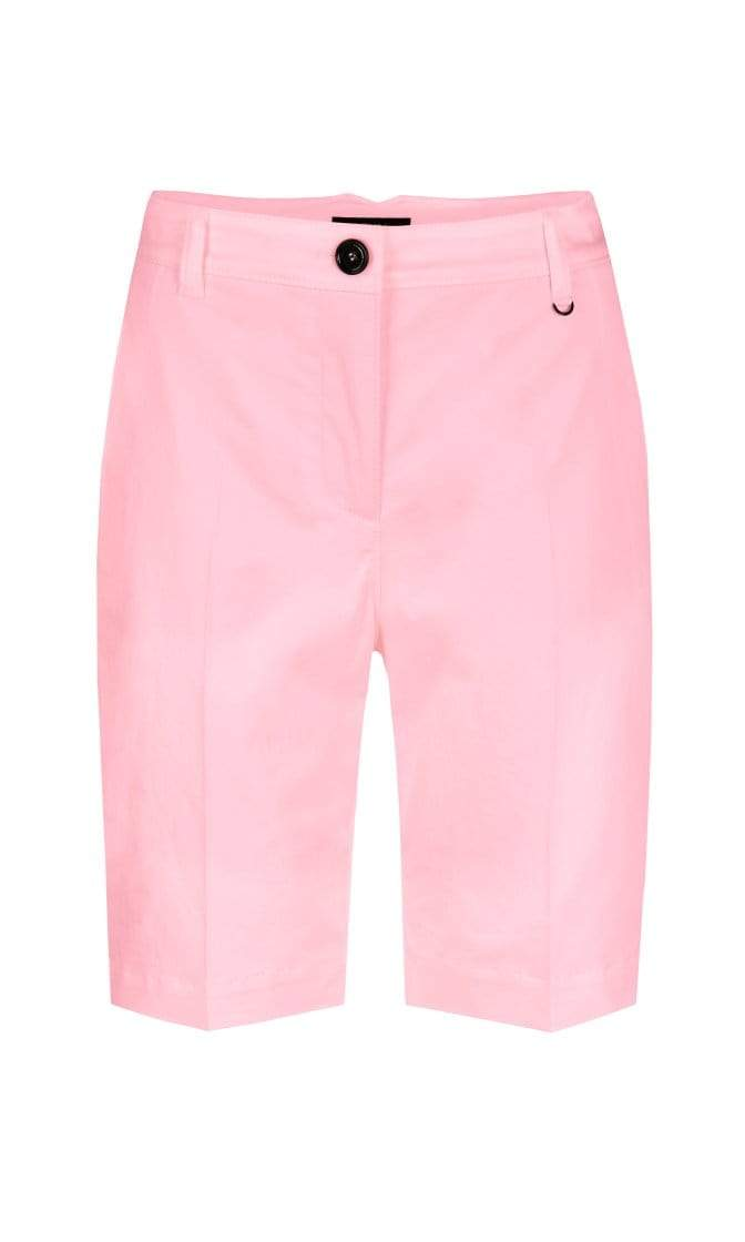 Marc Cain Sports Shorts Marc Cain Sports Charm Pink Shorts in stretch cotton NS 83.04 W46 izzi-of-baslow