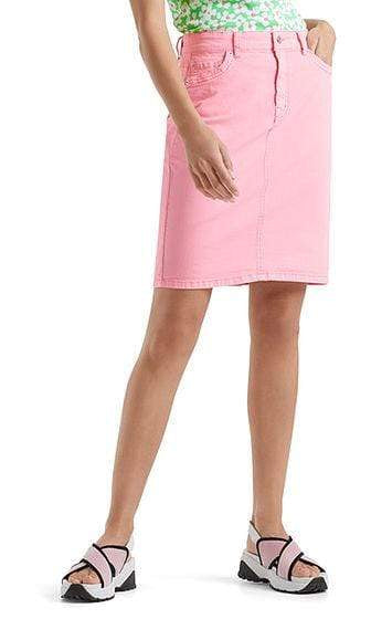Marc Cain Sports Skirts Marc Cain Denim skirt with high waistband NS 71.24 D10 izzi-of-baslow