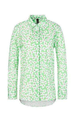 Marc Cain Sports Tops 2 Marc Cain Sports Blouse with cherry blossom NS 51.05 W43 izzi-of-baslow