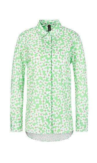 Marc Cain Sports Tops Marc Cain Sports Blouse with cherry blossom NS 51.05 W43 izzi-of-baslow
