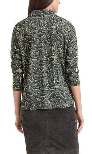 Marc Cain Sports Tops Marc Cain Sports Print Blouse PS 51.17 J64 izzi-of-baslow