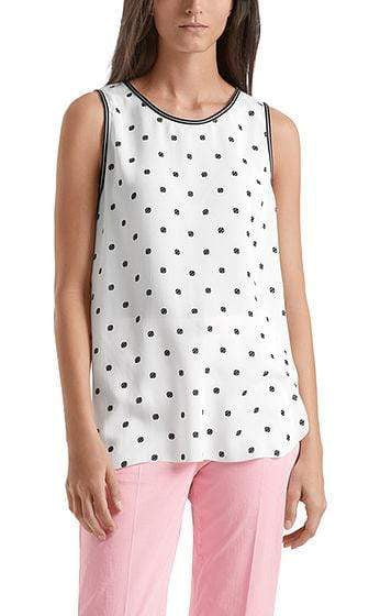 Marc Cain Sports Tops Marc Cain Sports Top with tennis ball print NS 61.02 W35 izzi-of-baslow