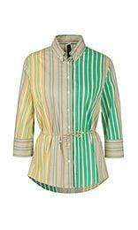 Marc Cain tops 2 Marc Cain Striped Blouse in Stretch Cotton NC 51.24 W43 izzi-of-baslow