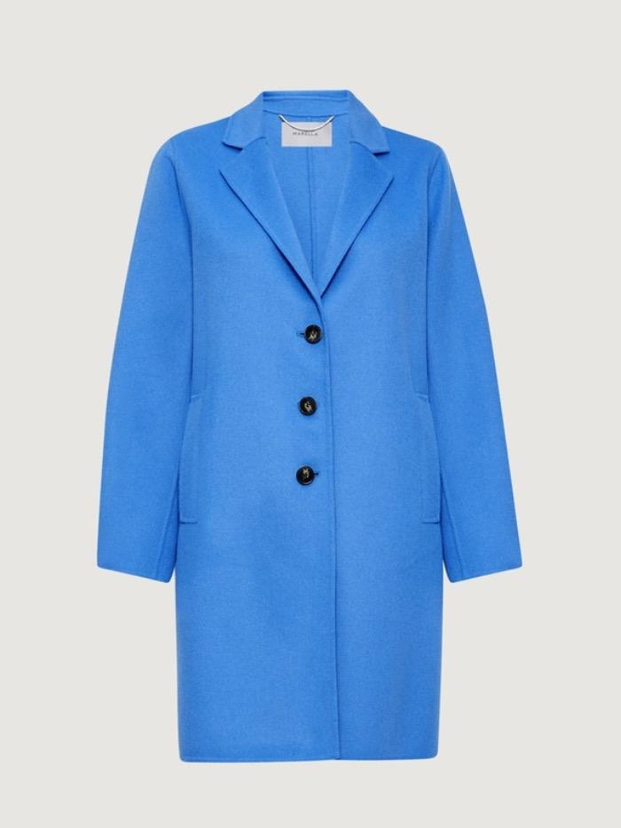 Marella Coats and Jackets Marella Monviso Cornflower Blue Coat izzi-of-baslow