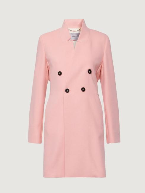 Marella Coats and Jackets Marella Pink Coat Muriel 30110501 izzi-of-baslow