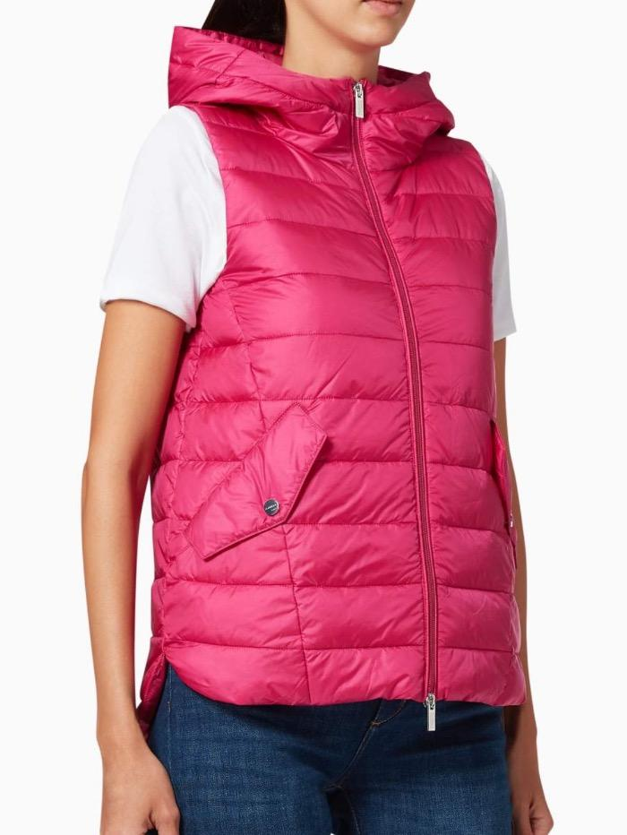 Marella Coats and Jackets Marella Sifone Cyclamen Quilted Gilet 32960207 izzi-of-baslow