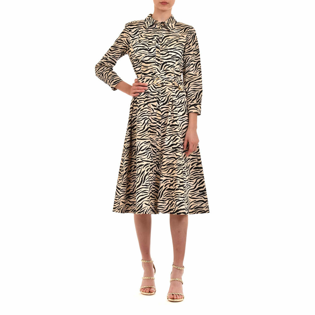 Marella Dresses Marella Regno Zebra Print Dress 32211104200 izzi-of-baslow