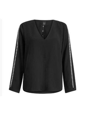 Marella Tops Marella Iseo Blouse Black 31110801 izzi-of-baslow