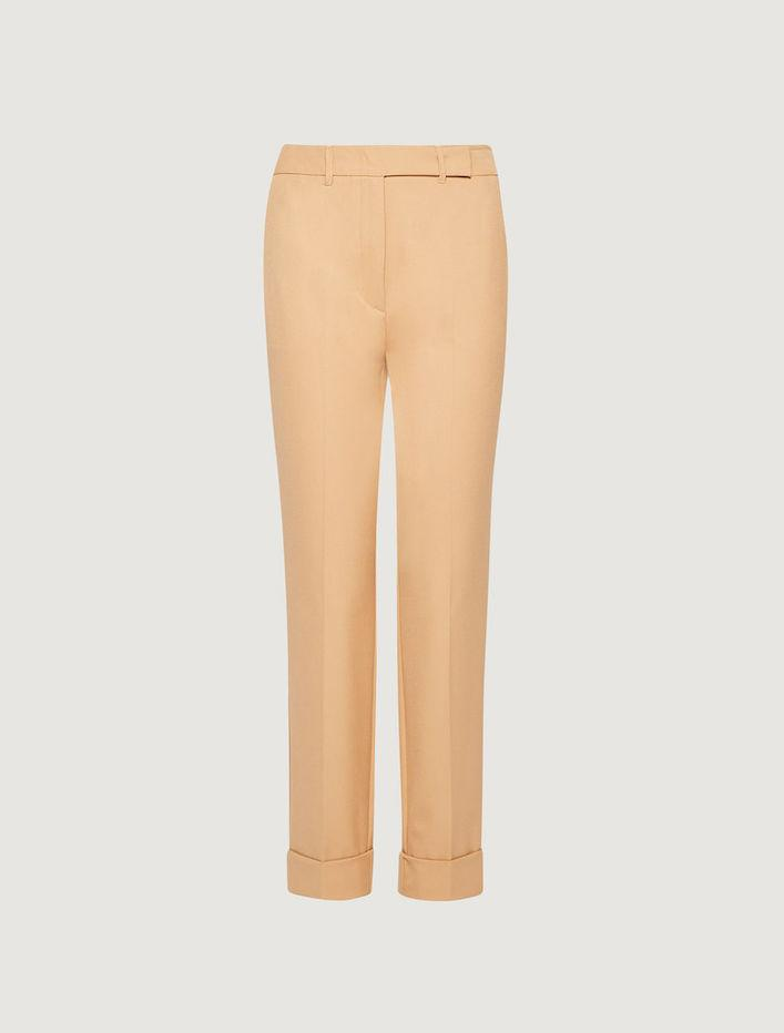 Marella Trousers Marella Camel Cigarette Trousers Amato 31362508 izzi-of-baslow