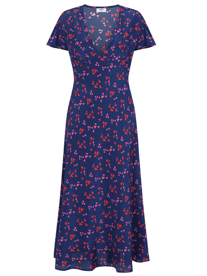 Mercy Delta Dresses Mercy Delta Stewart Hearts Sea Dress izzi-of-baslow