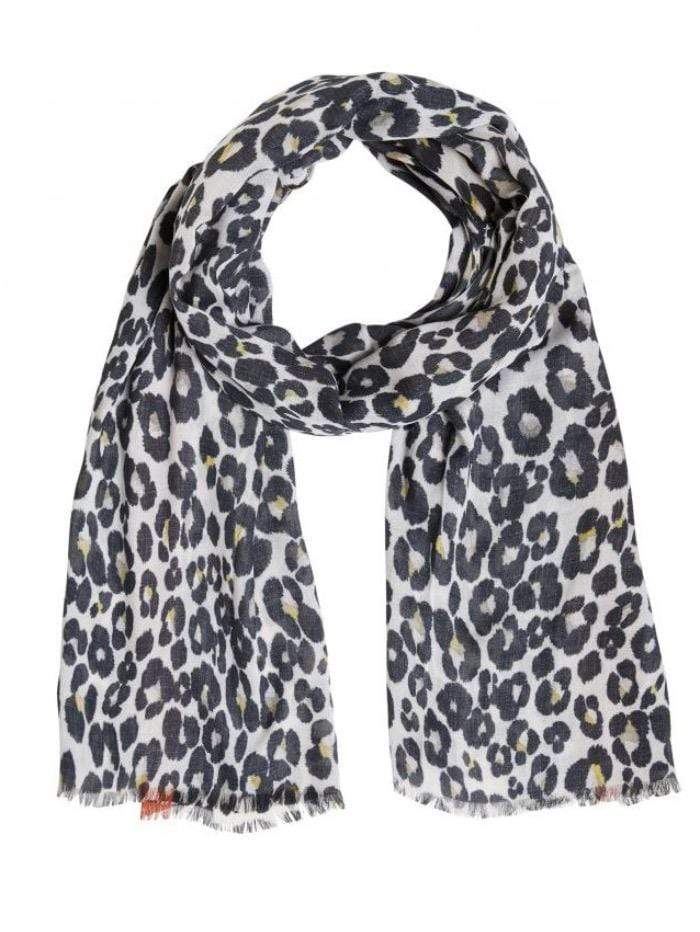 Oui Accessories OS Oui Animal Printed Scarf 71302 izzi-of-baslow