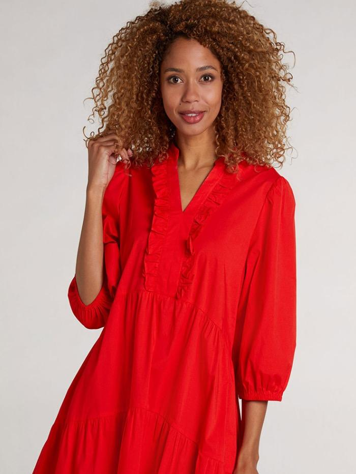 Oui Dresses Oui Red Dress 72924 izzi-of-baslow