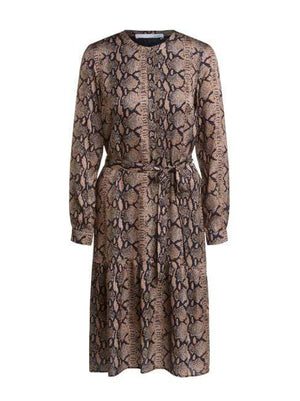 Oui Dresses Oui Snake Print Dress 67879 izzi-of-baslow