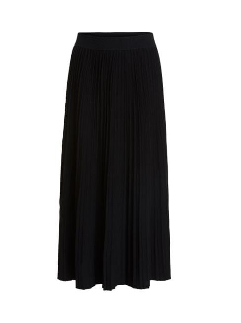 Oui Skirts Oui Black Pleated Skirt 66670 izzi-of-baslow