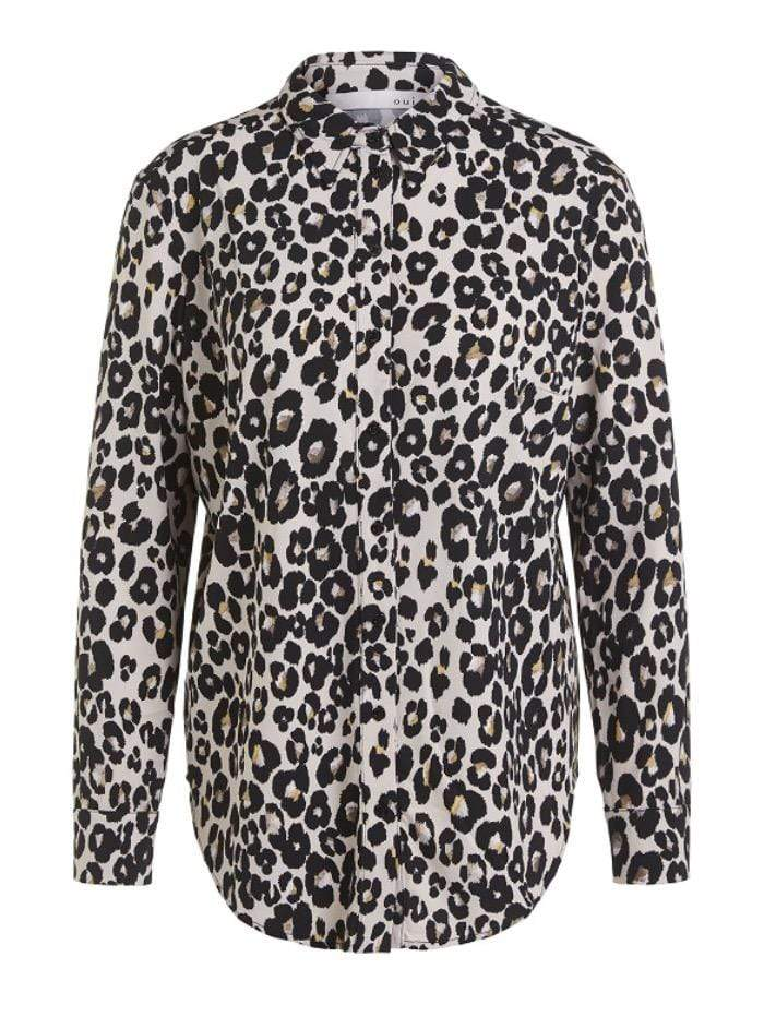 Oui Tops Oui Animal Printed Shirt 70731 izzi-of-baslow
