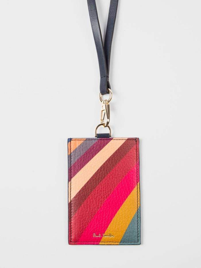 Paul Smith Accessories one / swirl Paul Smith Swirl Leather Lanyard W1A-6332-A50215-90 izzi-of-baslow