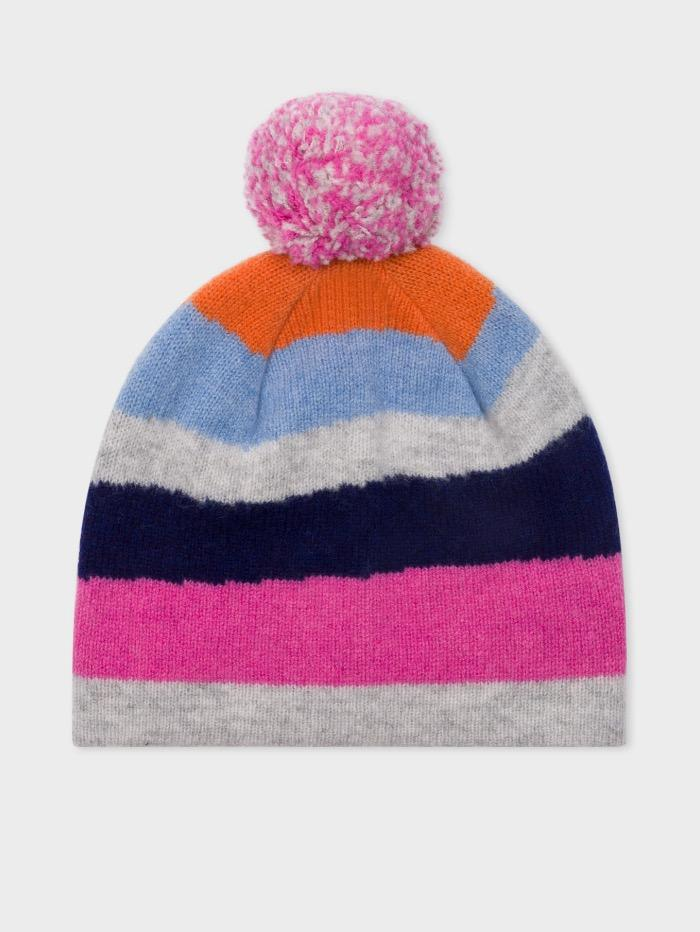 "Paul Smith Accessories OS Paul Smith ""Mountain"" Bobble Hat  in Wool Blend izzi-of-baslow"