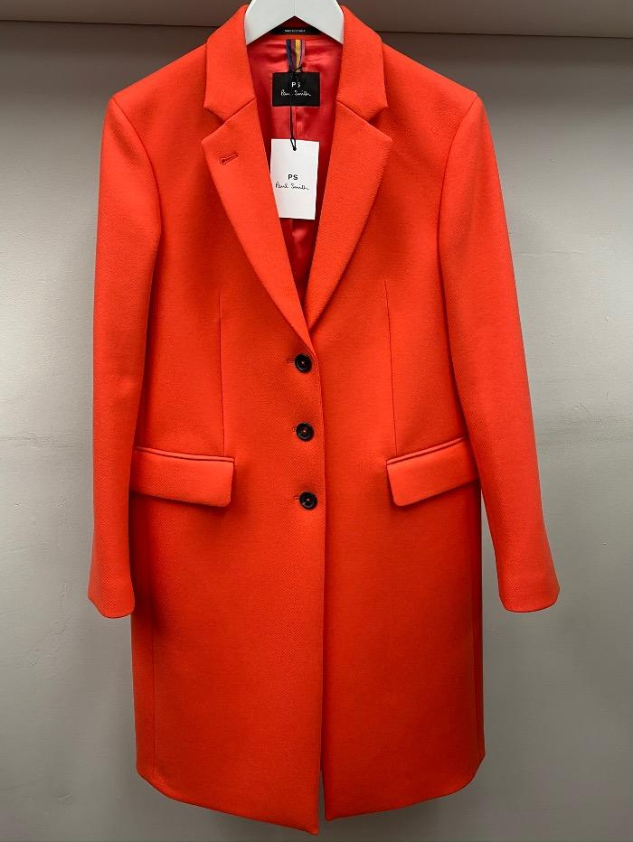 Paul Smith Coats & Jackets Paul Smith Orange Coat W2R-125CE-E20089 16 izzi-of-baslow