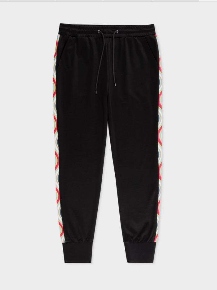 Paul Smith Loungewear Paul Smith Sweatpants Black stripe down side W2R-154T-F20081-79E izzi-of-baslow