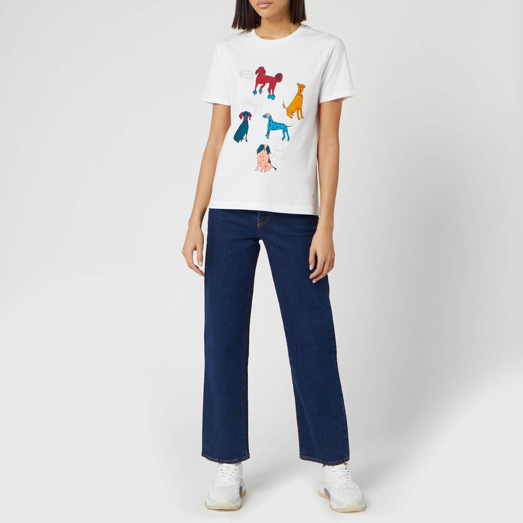 Paul Smith Tops Paul Smith Dog Days T-Shirt White izzi-of-baslow
