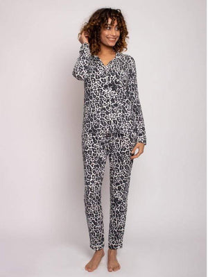 Pretty You London Loungewear Pretty You London Bamboo Collection Luxe Leopard Print Pyjamas izzi-of-baslow