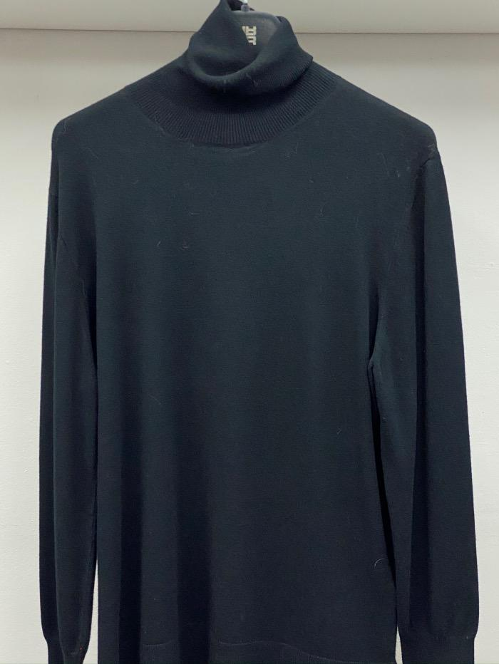Riani Knitwear Riani Long Sleeved Black Polo Necked Jumper 887850/7673 999 izzi-of-baslow