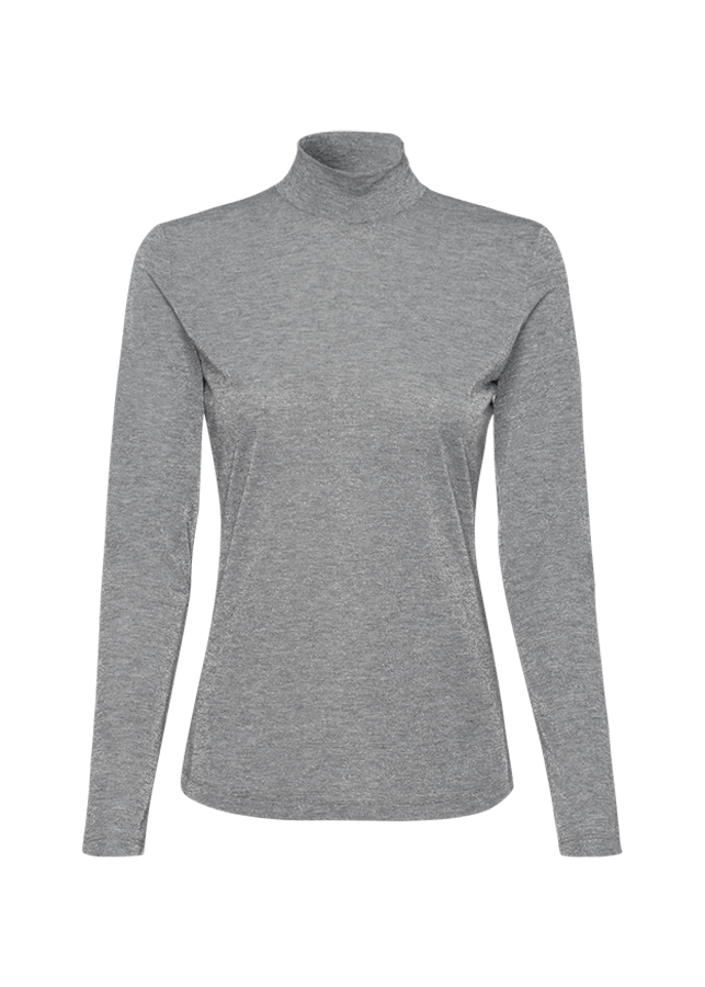 Riani Tops Riani Long Sleeved Sparkly Knit in Grey 808845/8157 izzi-of-baslow
